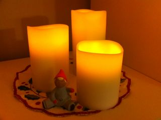 Candles_tomte