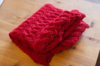 Pre-block-shawl